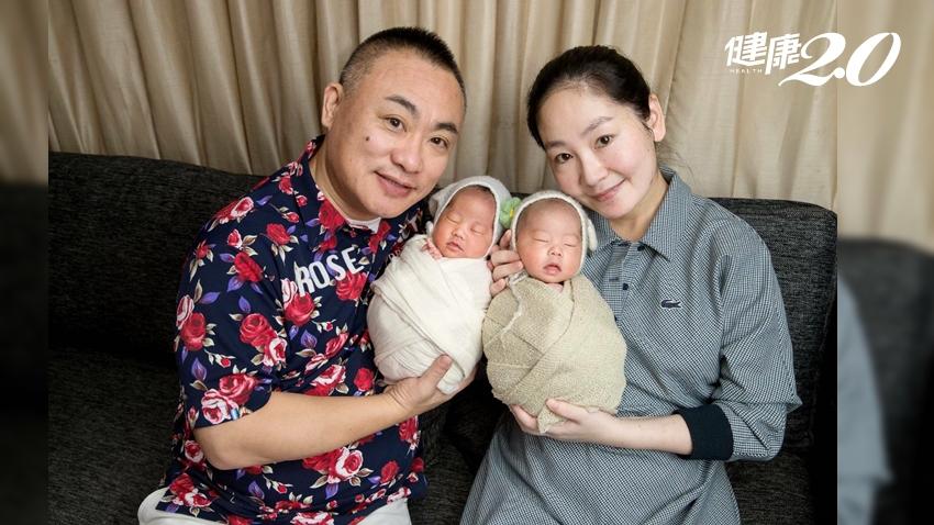他寡精症、她子宮內膜過薄…夫妻求子8年 賭上僅存2胚胎成功受孕!