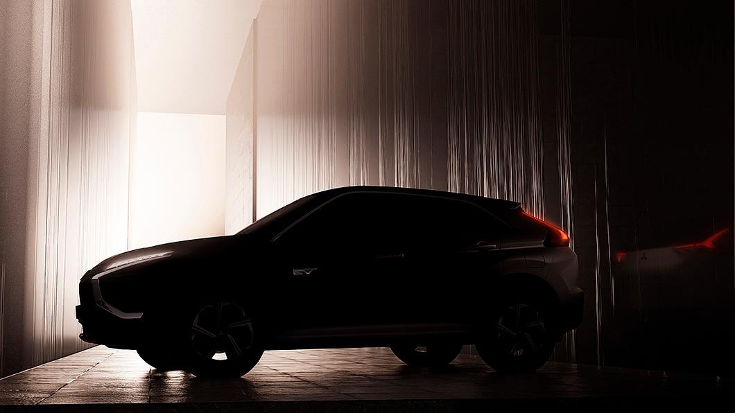 Mitsubishi曝光小改款Eclipse Cross部分設計細節。(圖片來源/ Mitsubishi) Eclipse Cross小改款輪廓首度曝光 確定加入PHEV動力