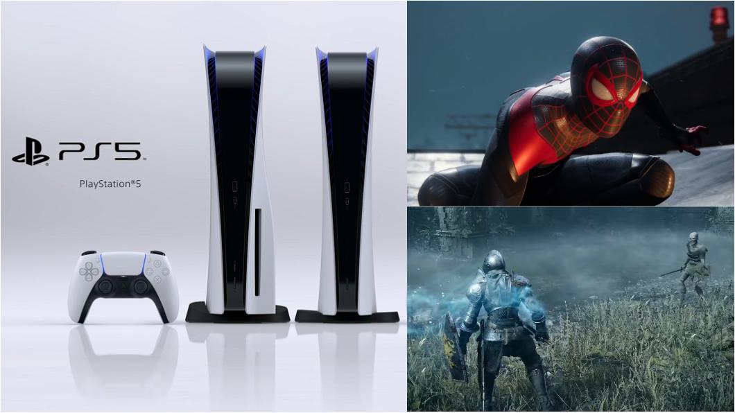 PS5藍光光碟機版將在今天中午12點開放預購,至於數位版將在9月21日中午12點開放預購。(圖片來源/ PS5) PS5即日起開放預購 售價12,980元起11/19正式上市