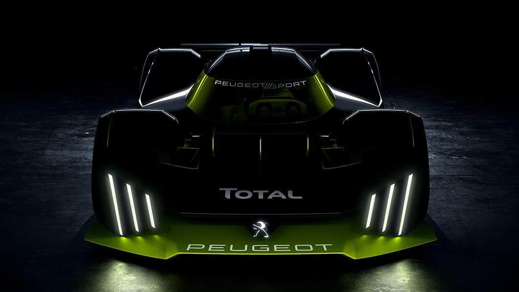 Peugeot宣布將在2022年參與Le Mans 24小時耐久賽。(圖片來源/ Peugeot) 全球限量25部「超跑」即將誕生? Peugeot展示Le Mans賽車預告圖