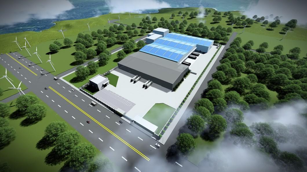 全新物流中心占地超過4,200坪,預計耗時兩年建置,將於2022年完工啟用。(圖片來源/ M-Benz) M-Benz在台興建原廠零件物流中心 預計2022年完工啟用