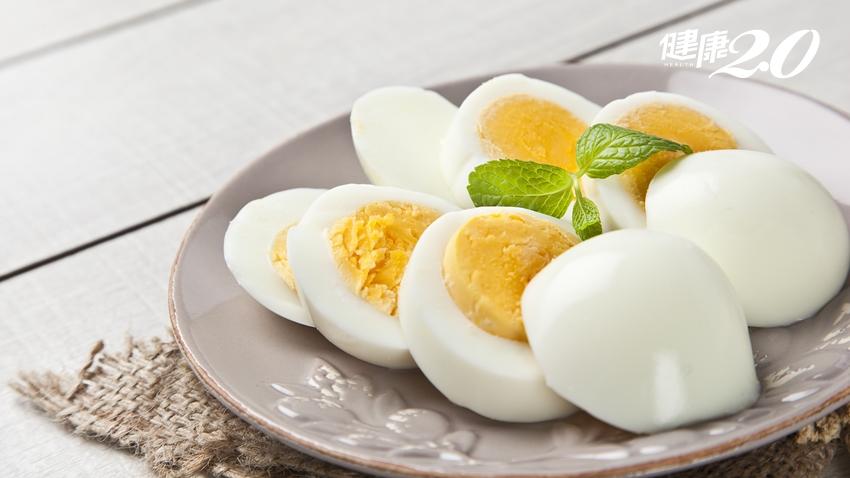 吃水煮蛋CP值超高 一顆就有7克蛋白質!優質蛋白質來源還有哪些?
