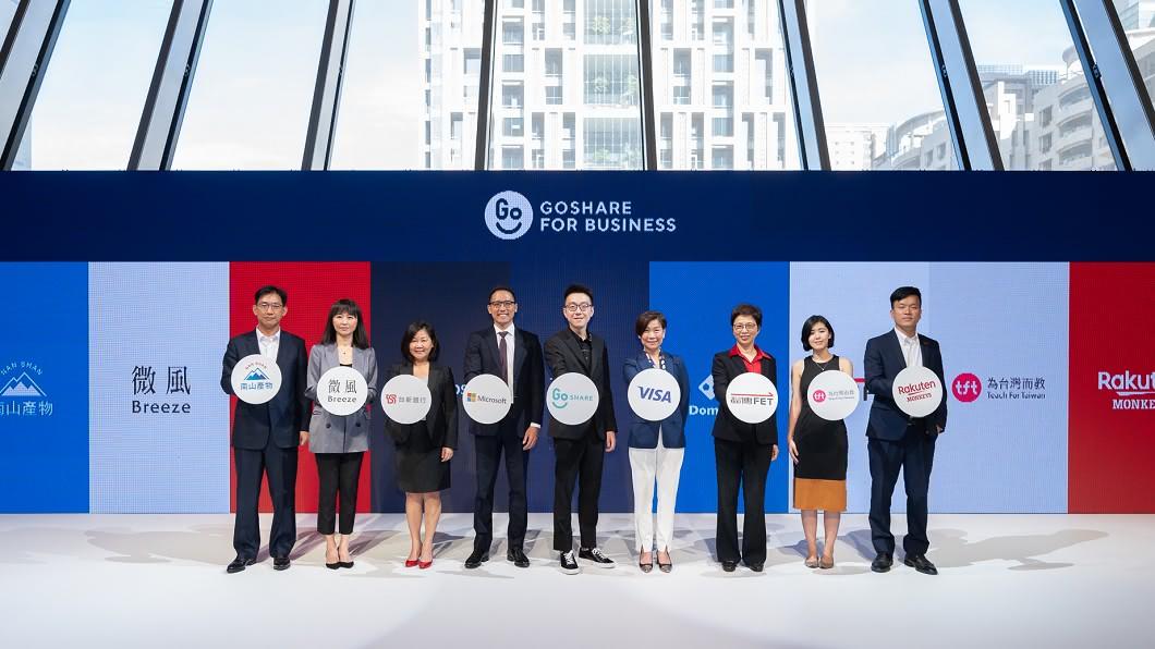 GoShare for Business企業方案將於9/29日正式啟動。(圖片來源/ Gogoro) GoShare企業方案9/29啟動 同步推出挑剔指南美食服務