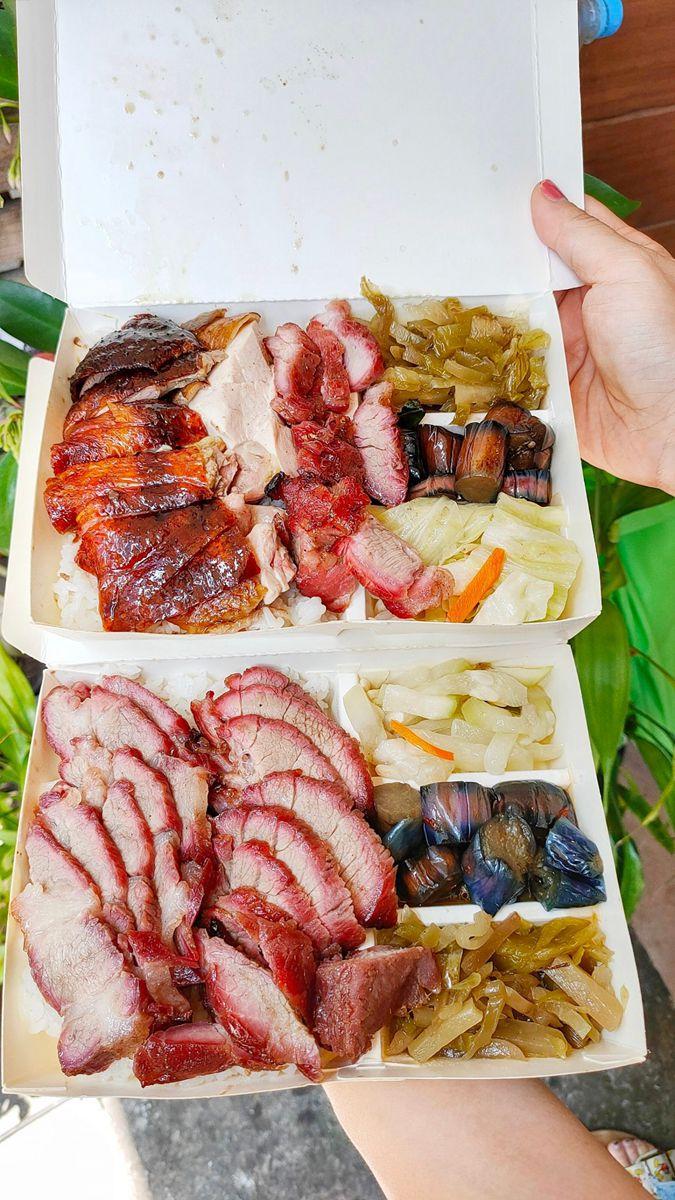 滿到蓋不起來!北中南6家大分量燒臘便當:1盒8主菜、巨大油雞腿、秒殺級烤鴨腿