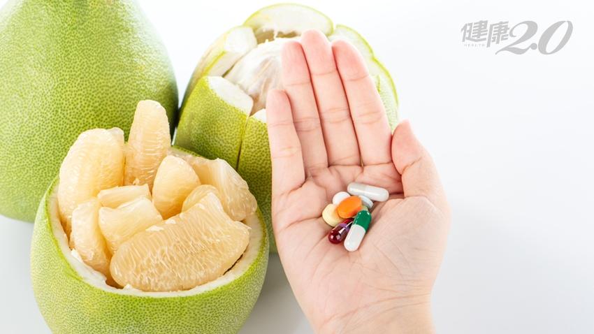 柚子配藥有交互作用,別以為分開吃就沒事!除了柚子,這些水果也危險
