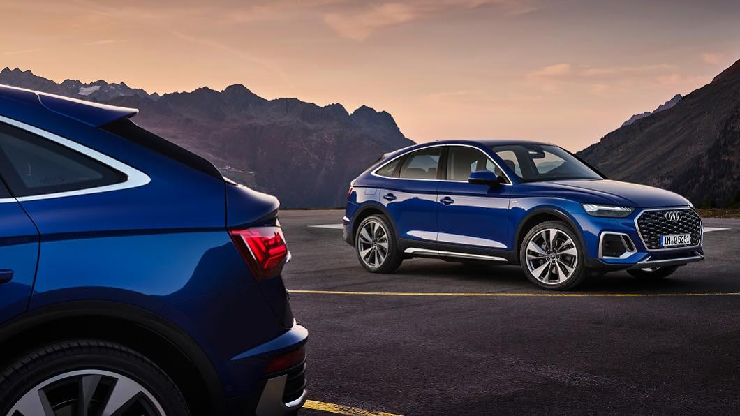 Audi宣告推出Q5 Sportback,預計明年年初進入市場。(圖片來源/ Audi) Q5 Sportback曝光亮相 預告2021上半年加入戰局