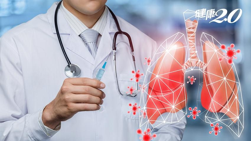 「肺炎」死亡率攀升更勝癌症!肺炎鏈球菌疫苗接種率不到2成 台大醫建議肺炎高風險族群必打3疫苗