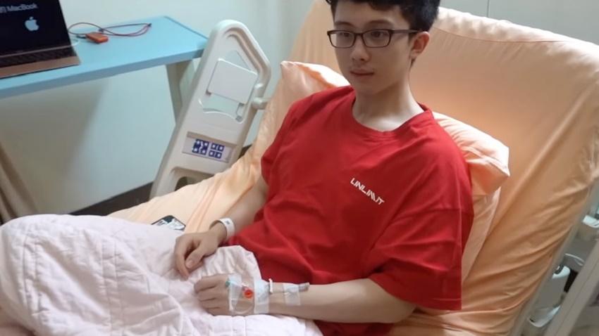 孫安佐做鼻中膈手術滲鼻血、吐血痰 醫師說這治療值得,可防很多問題