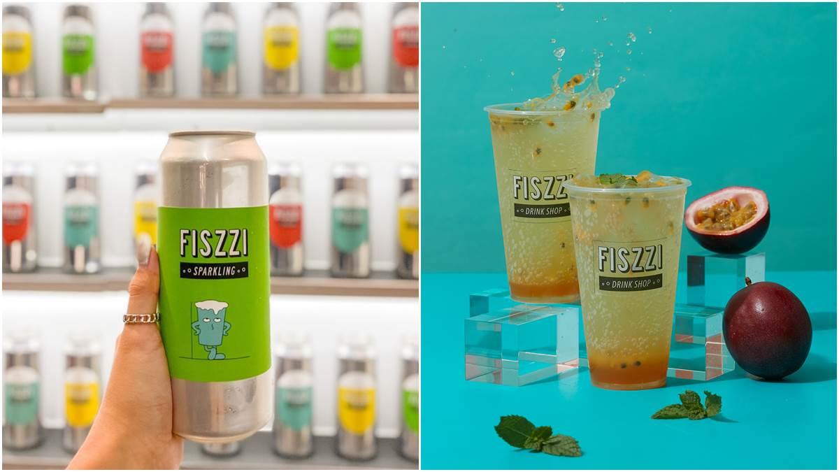 【新開店】綿密氣泡尬水果!FISZZI費滋4款必喝限時買一送一,還有2種包裝可搶拍