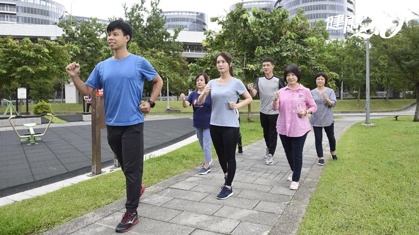 公園就是你的健身房!國健署推公園運動3招 吃烤肉、月餅也不怕胖