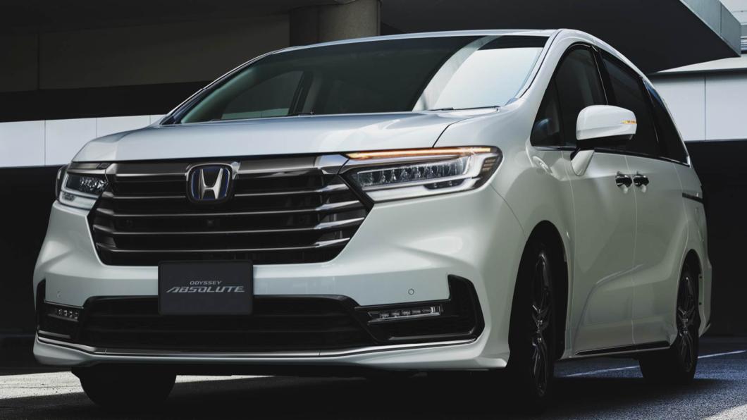 日本本田專屬網站中釋出全新小改款Odyssey車型資訊。(圖片來源/ Honda) 「手一揮」就能開門! 日規小改款Odyssey年底上市