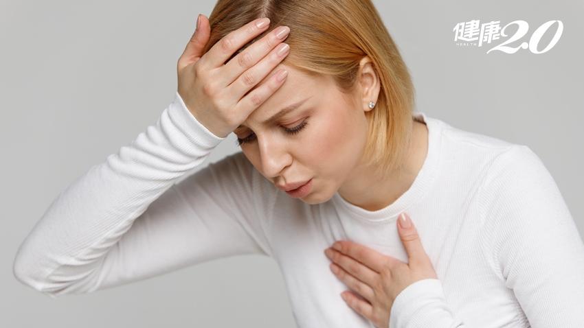 「累、喘、腫」3 症狀要當心!染新冠肺炎死亡風險高5倍