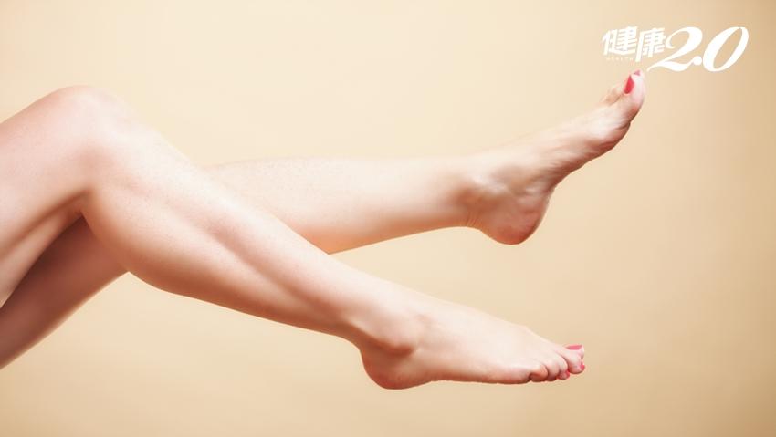 別再翹腳啦!5大壞習慣養出蘿蔔腿 醫師推薦這2招消除粗壯小腿肌
