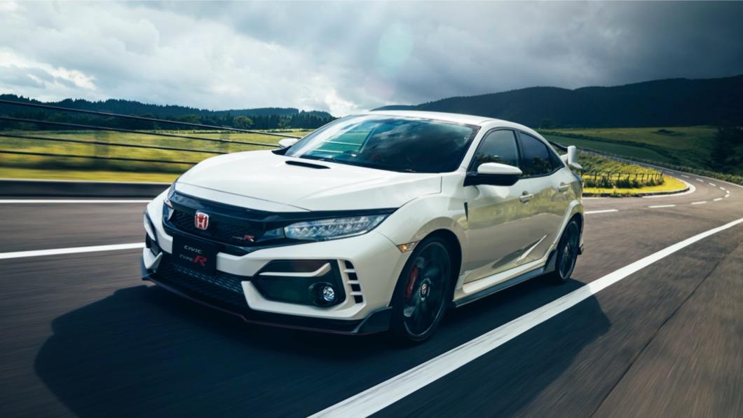 小改款車型針對外觀進行調整,優化了引擎散熱效果。(圖片來源/ Honda) 小改款Civic Type-R終於開賣 散熱加強底盤更穩