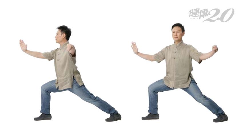練肩膀防痠痛!「單鞭開合」刺激膻中穴 增加肺活量、消除腰痠背痛
