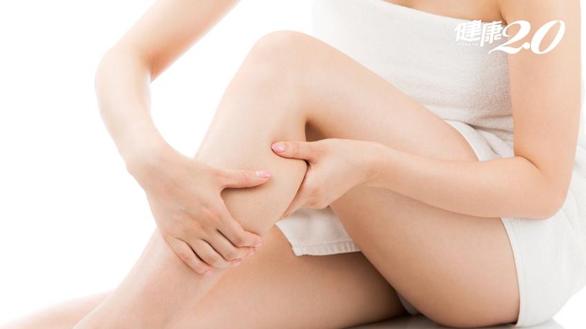 小腿肚是「第2顆心臟」!按摩法圖解,讓血循變好,遠離心臟病、高血壓、失眠