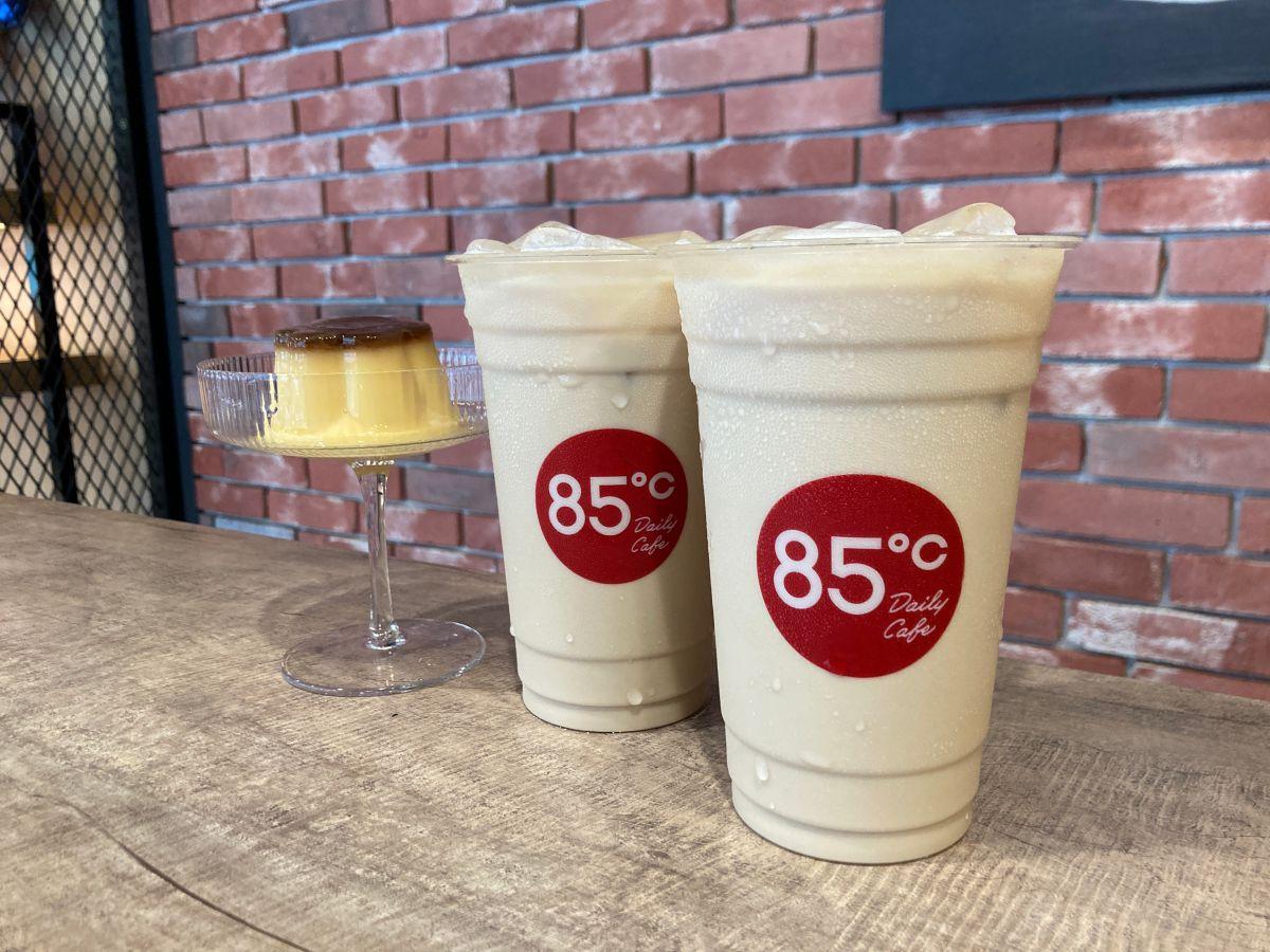 布丁控要一次喝2杯!85度c連續4天推出「布丁奶茶第2杯10元」