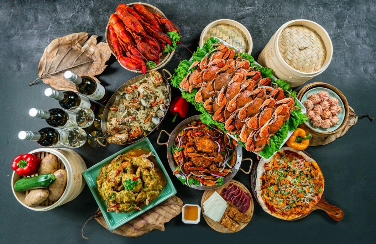 海鮮控站起來!2大超狂Buffet:990元螃蟹吃到飽、生蠔三吃+生啤暢飲