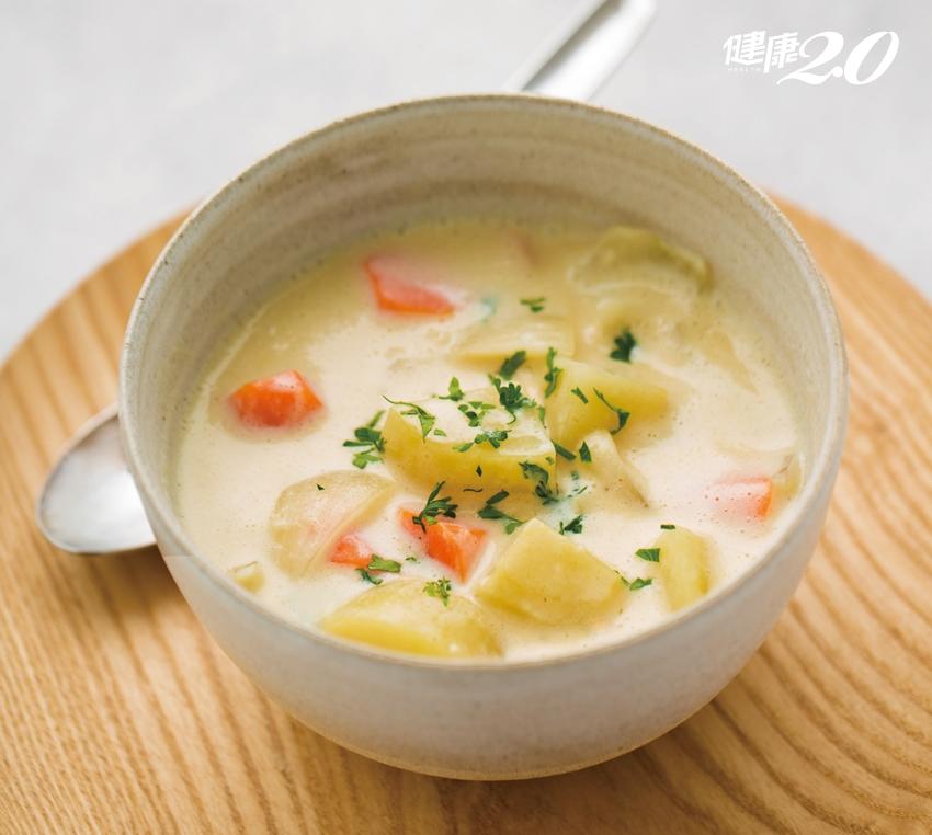 天冷了!自己做純素「豆漿起司白醬」 一鍋燉煮料理暖胃又暖心