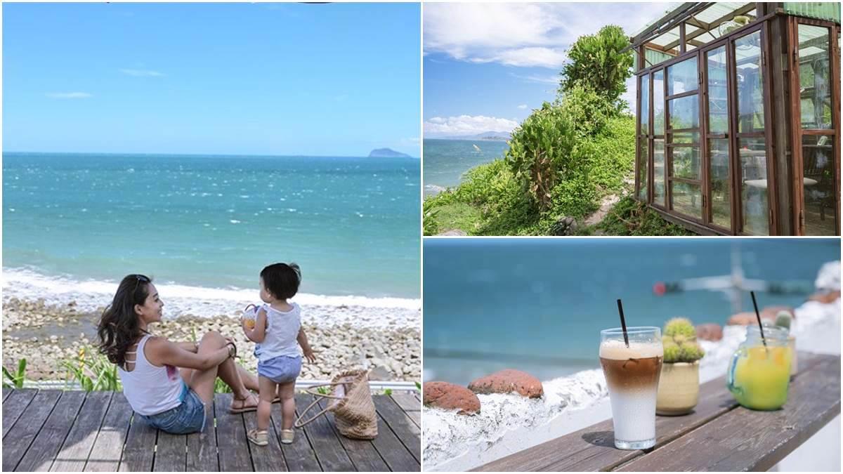 彷彿在地中海喝下午茶!北海岸祕境咖啡廳賞180度海景,還有隱藏發呆露臺超好拍