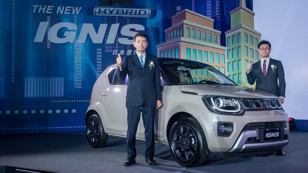 Suzuki於10/21在台發表全新小改款Ignis。(團片來源/ Suzuki) 輕油電Suzuki Ignis上市 超級省油!每公升跑22.1公里