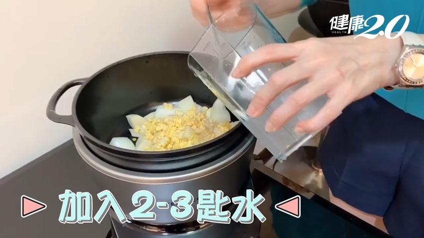「玉米」保健視力效果好!主播教你這樣煮「超濃玉米濃湯」 玉米黃素營養價值更高