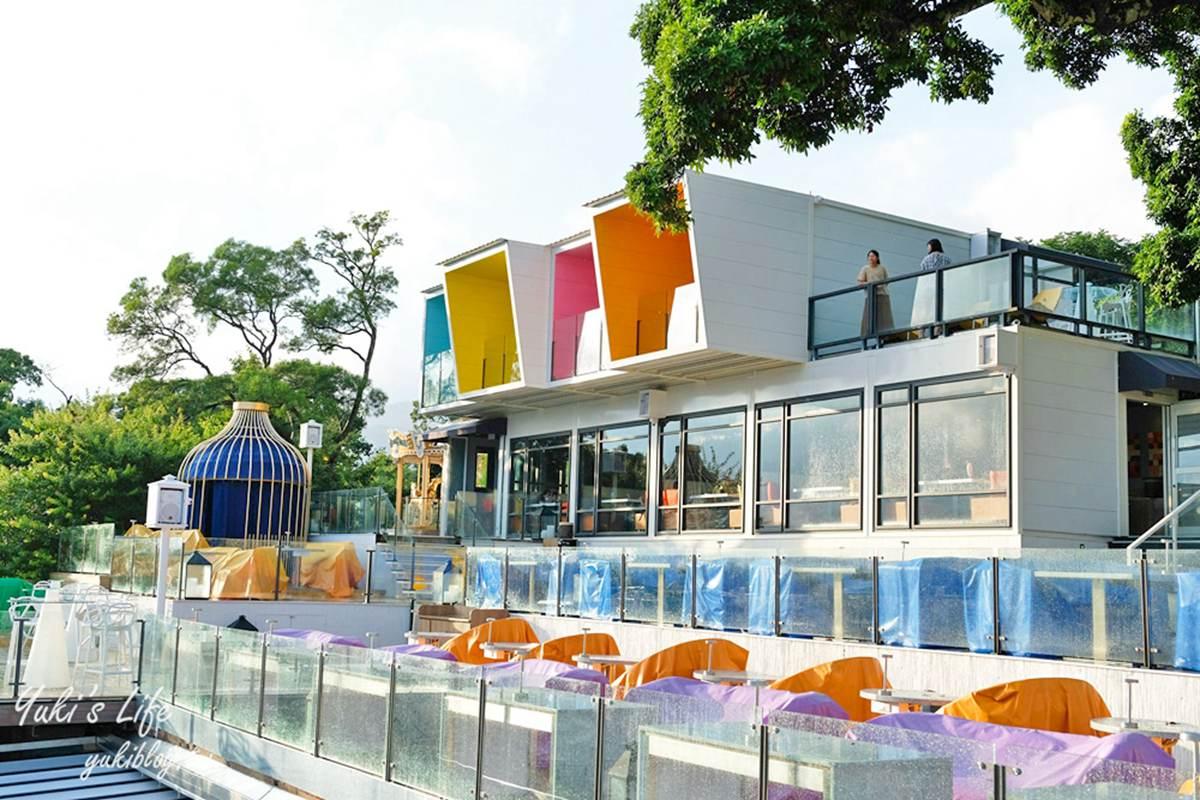 網美快搶訂位!陽明山夜景餐廳全新改版,金色旋轉木馬、LED玫瑰燈海都必拍
