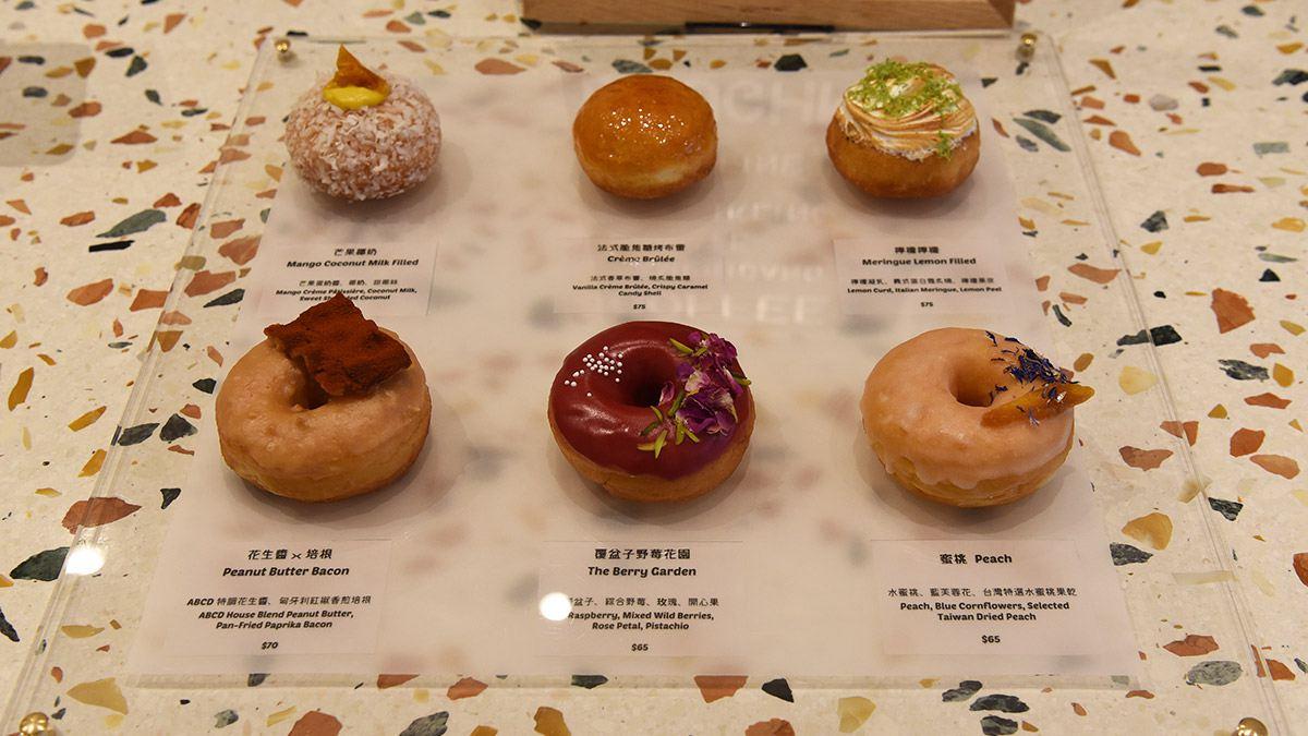【食尚首播】好拍更好吃!中山站打卡甜甜圈外脆內鬆,必點花生醬培根、覆盆子野莓