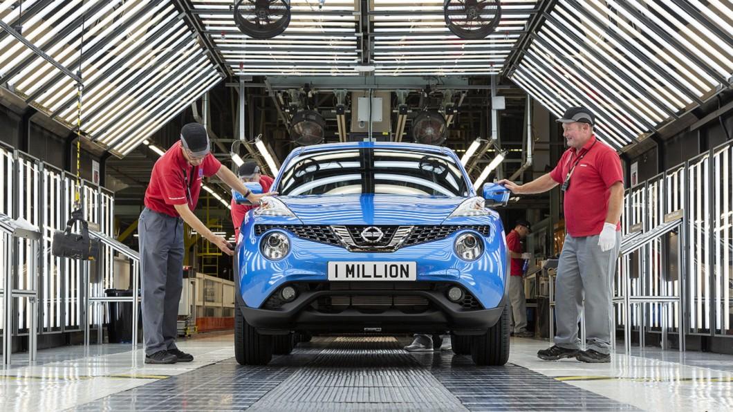 受英國脫歐與新冠肺炎影響,英國汽車產業度過近25年最慘9月。(圖片來源/ Nissan) 近25年最慘 英國汽車工業產量創四分之一世紀新低