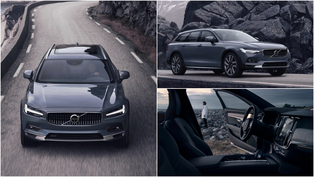 新年式V90 Cross Country開價259萬元起正式開賣。(圖片來源/ Volvo) 升級輕油電與手機無線充電 新年式V90 Cross Country開賣