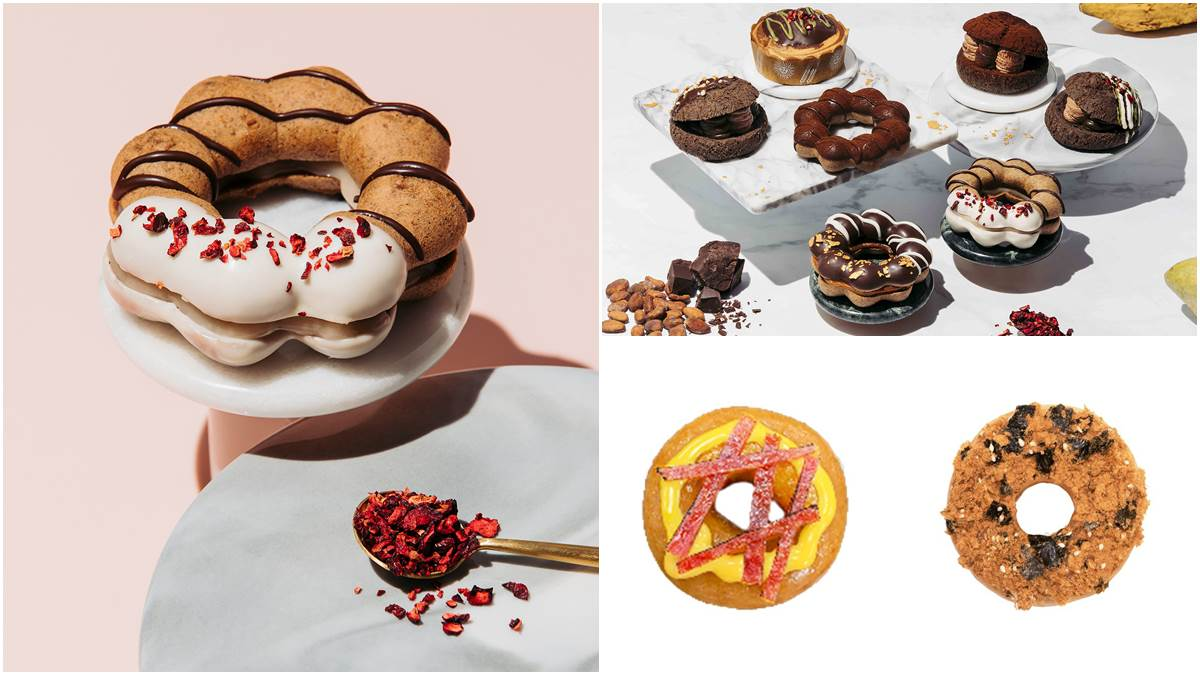 限時買一送一!2間人氣甜甜圈聯名新東陽、福灣巧克力,強推海苔肉鬆、可可荔枝口味