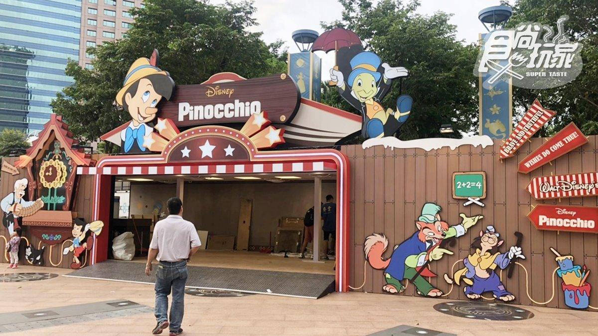 獨家現場直擊!新北耶誕城必逛「迪士尼公主的童話森林」與「皮諾丘的家」快閃店