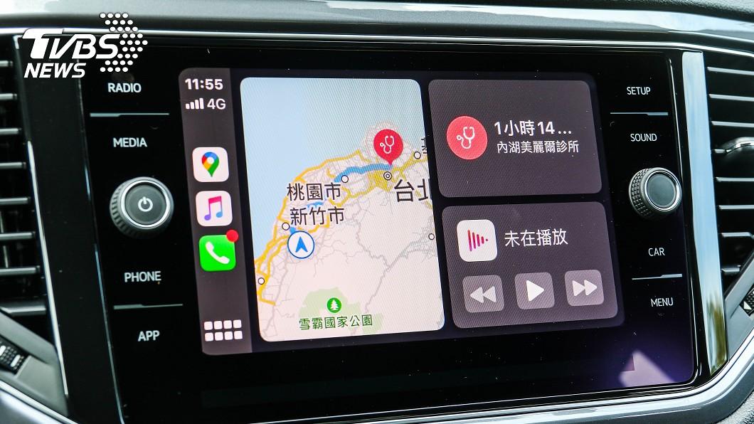 最新版本Apple Maps新增測速功能。(圖片來源/ TVBS) 實測!Apple Maps測速功能登場 兩大缺點要注意