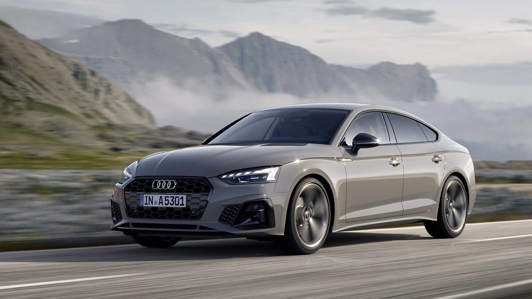 小改款A5 Sportback車系開價230萬元起上市。(圖片來源/ Audi) 230萬起小改A5 Sportback正式上市 外觀微調內裝走向觸控化