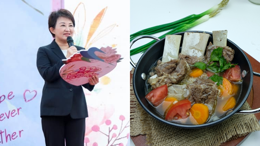 盧秀燕市長分享家傳「五蔬果牛肉」,營養師大推適合這些人吃