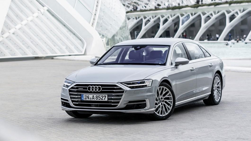 新年式A8上市開賣,改採3.0升V6單一汽油動力設定。(圖片來源/ Audi) A8入主門檻升至429萬元 短軸車型捨柴油改汽油動力