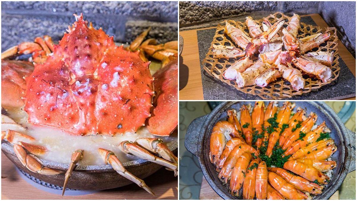 秋冬就是要吃蟹!台北日式海鮮餐廳「1蟹3吃」超霸氣,嗆蝦、鮮鮑魚也必點