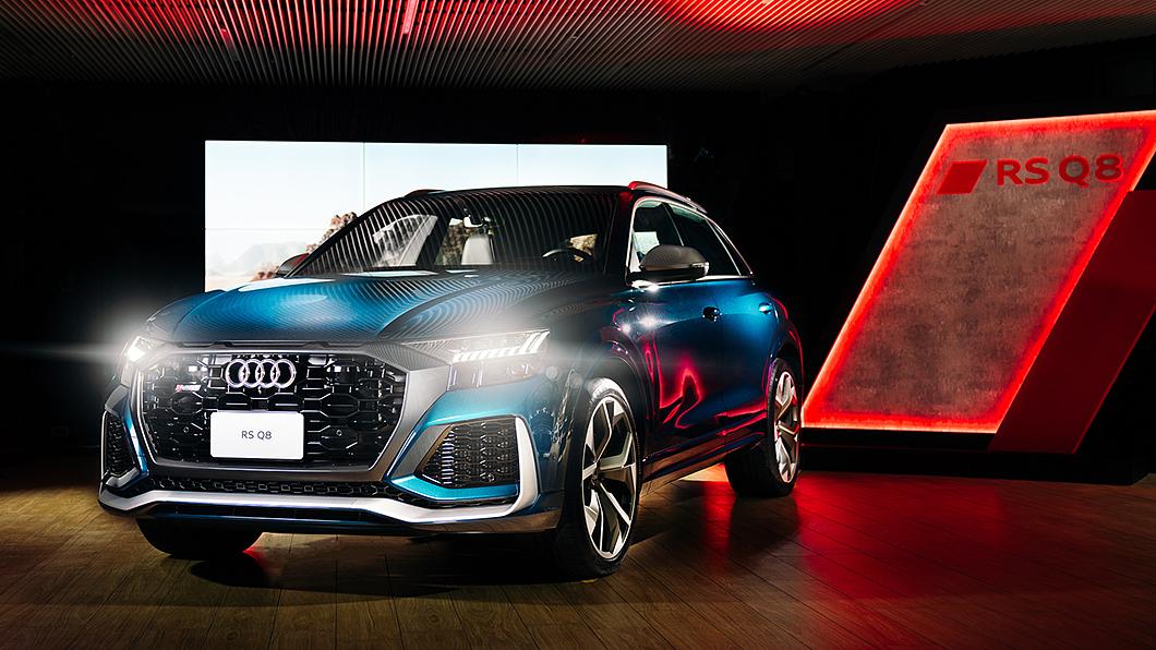 Audi旗艦高性能跑旅RS Q8正式登陸臺灣市場。(圖片來源/ Audi) RS Q8開價730萬元正式登臺 Q7小改款369萬元同步上市
