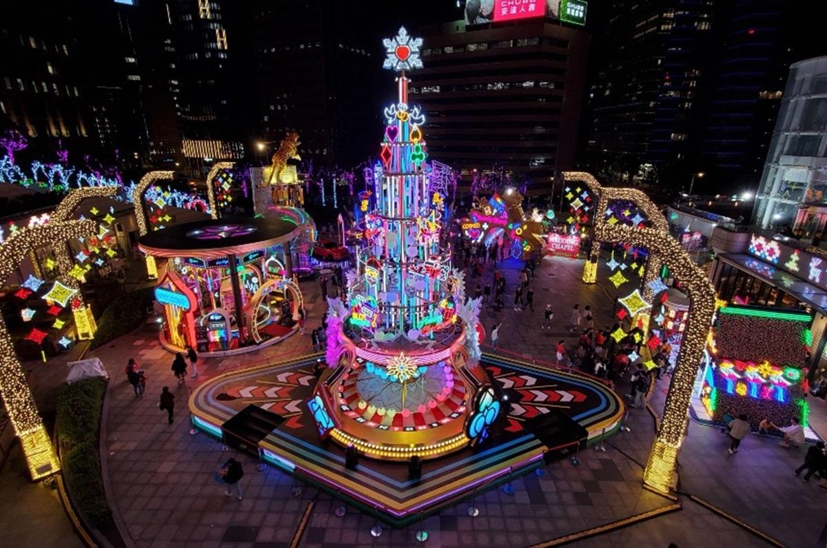 15間百貨+4大商圈一起嗨!史上規模最大「繽紛耶誕玩台北」11/27啟動,美拍打卡還能玩集章