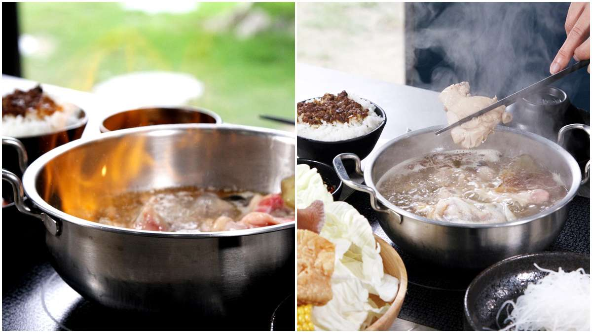 【新開店】溫體薑母鴨變身最台涮涮鍋!火焰燒酒雞、暴動肉食牛套餐也必吃