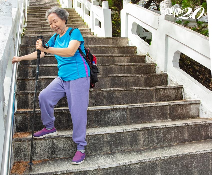 爬山7件事不怕傷膝蓋 「側身下山」比「倒退嚕」更安全