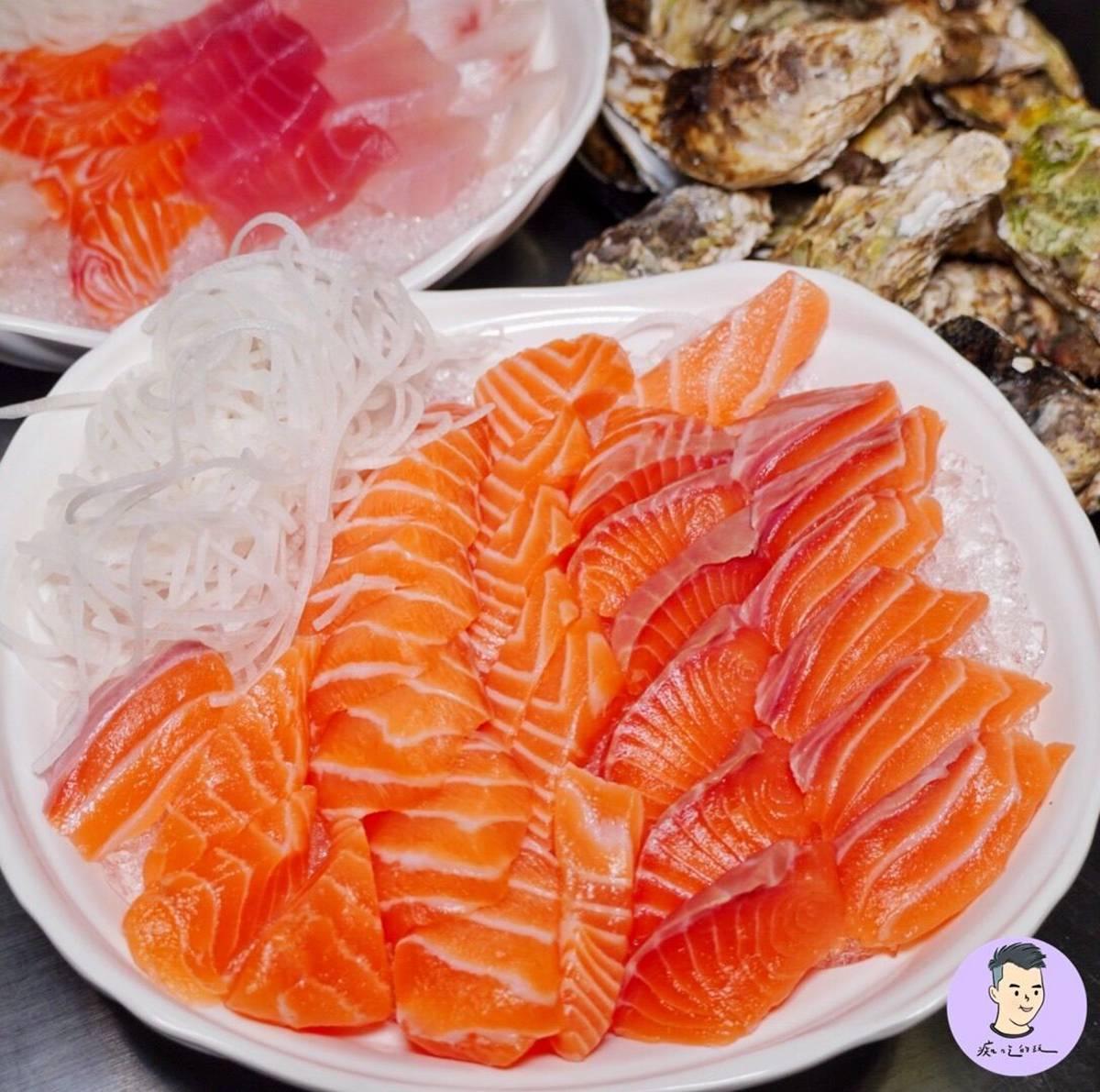 台南也有5元生魚片!20片100元還不快吃爆,加碼厚切鮭魚30片只要250元