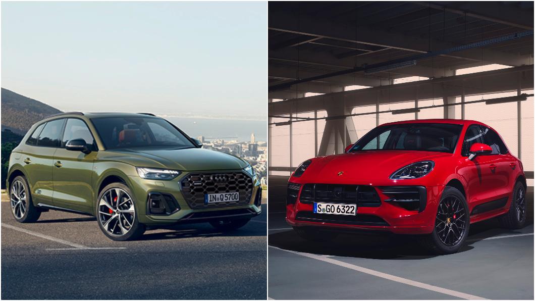 Q5 e-tron與電動版Macan預計2022年全球上市。(圖片來源/ Audi、Porsche) Q5 e-tron與電動Macan預告後年現身 ID.Buzz電動廂型車同年問世