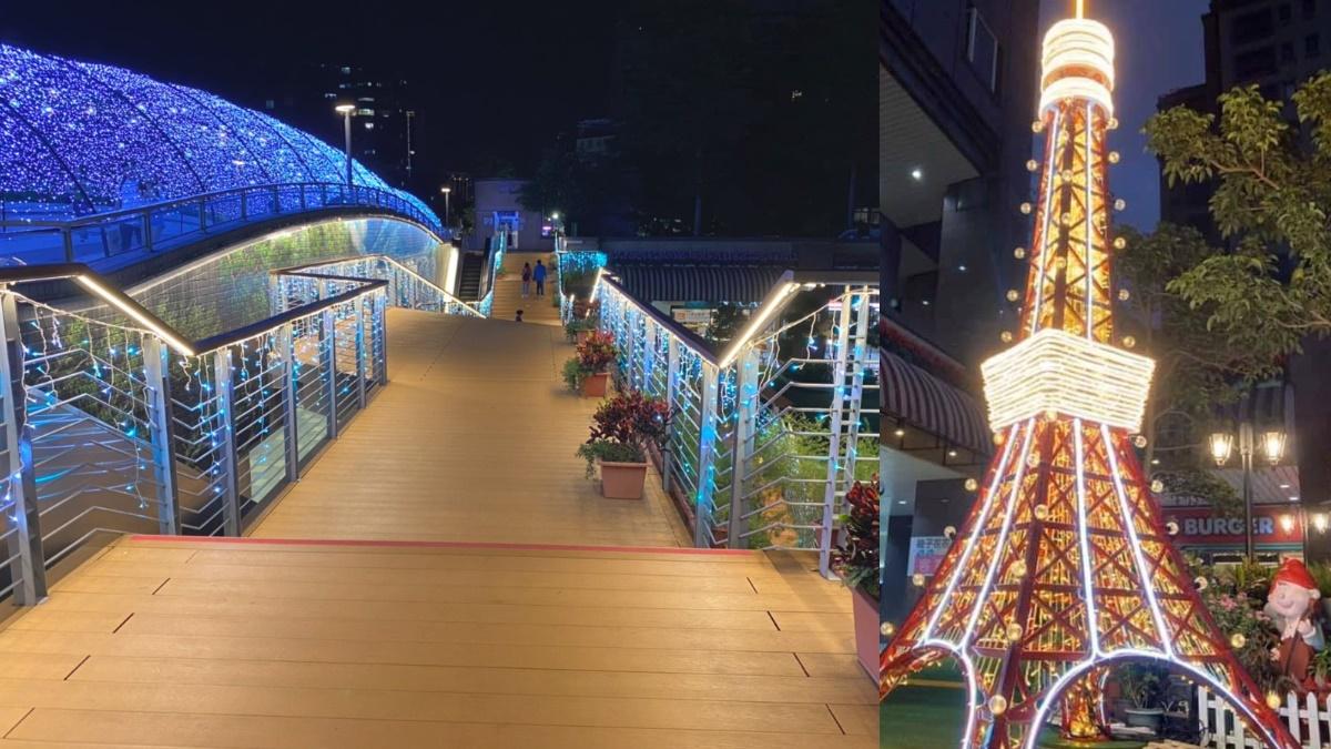 東京藍色燈海+屋台市集都搬到台灣了!「北捷中山站」就有日本最美耶誕打卡點
