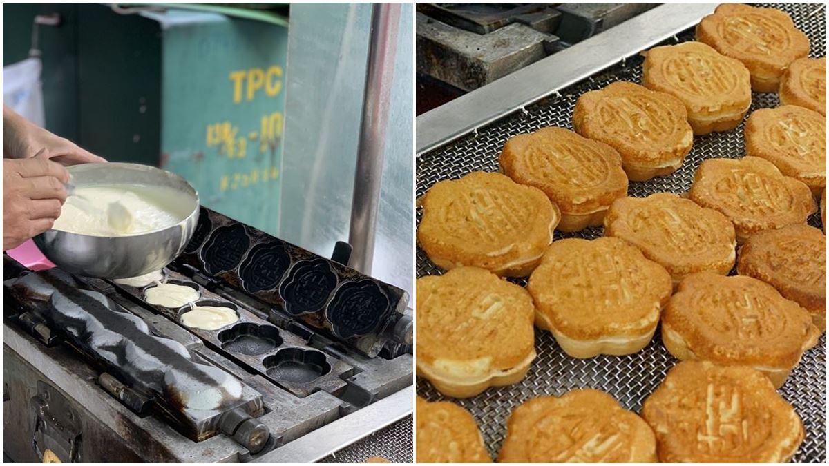 新竹人口袋名單!古早味雞蛋糕1個只要6元,超Q口感趁熱吃像麻糬