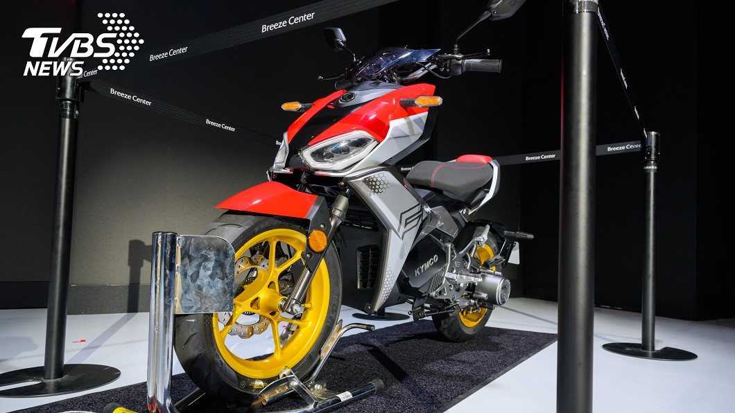 KYMCO於11/26舉行「Time To Exctie熱血時刻」新車發表會。 光陽發表性能電車F9 RevoNEX成品牌首款義大利製電動重機