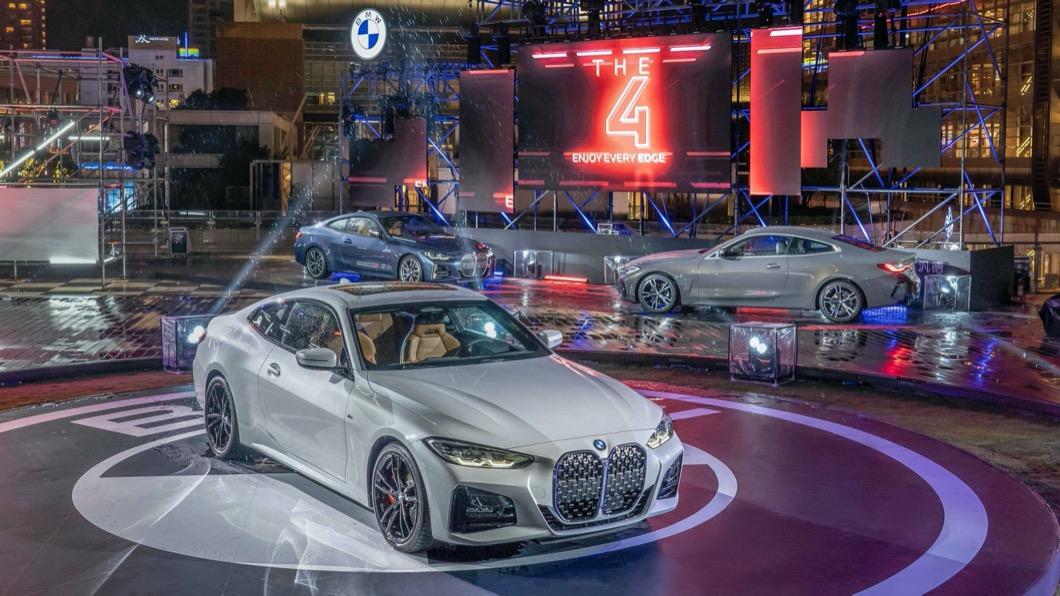 全新BMW 4系列雙門跑車於12/2正式在台發表。(圖片來源/ BMW) 「大鼻孔」4系列雙門跑車正式駕到! 三車型售價236萬元起