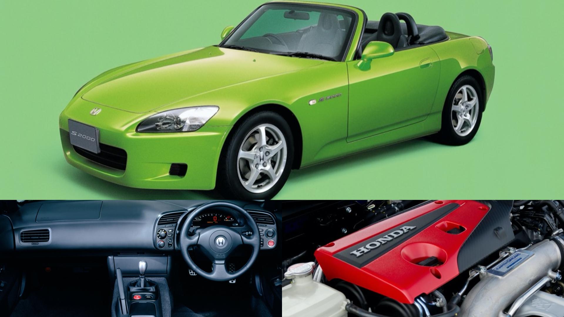 S2000是Honda旗下經典的雙座敞蓬跑車。(圖片來源/ Honda) Honda S2000復活有望? Type-R渦輪引擎蓄勢待發