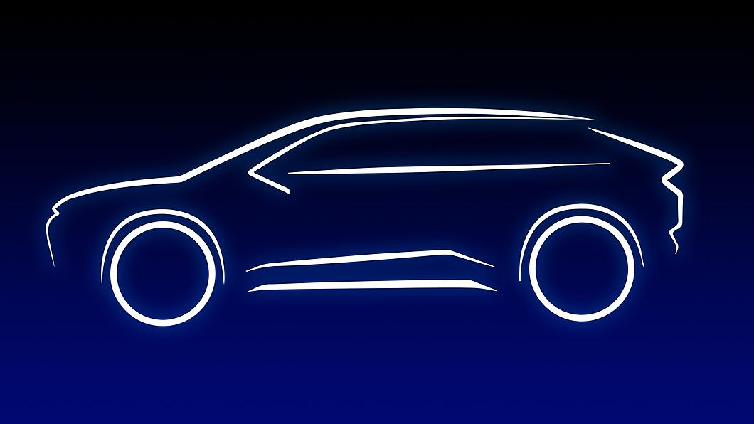 Toyota預告將推出全新純電SUV作品。(圖片來源/ Toyota) Toyota純電休旅即將發表 特斯拉電動車銷售王座勁敵來襲