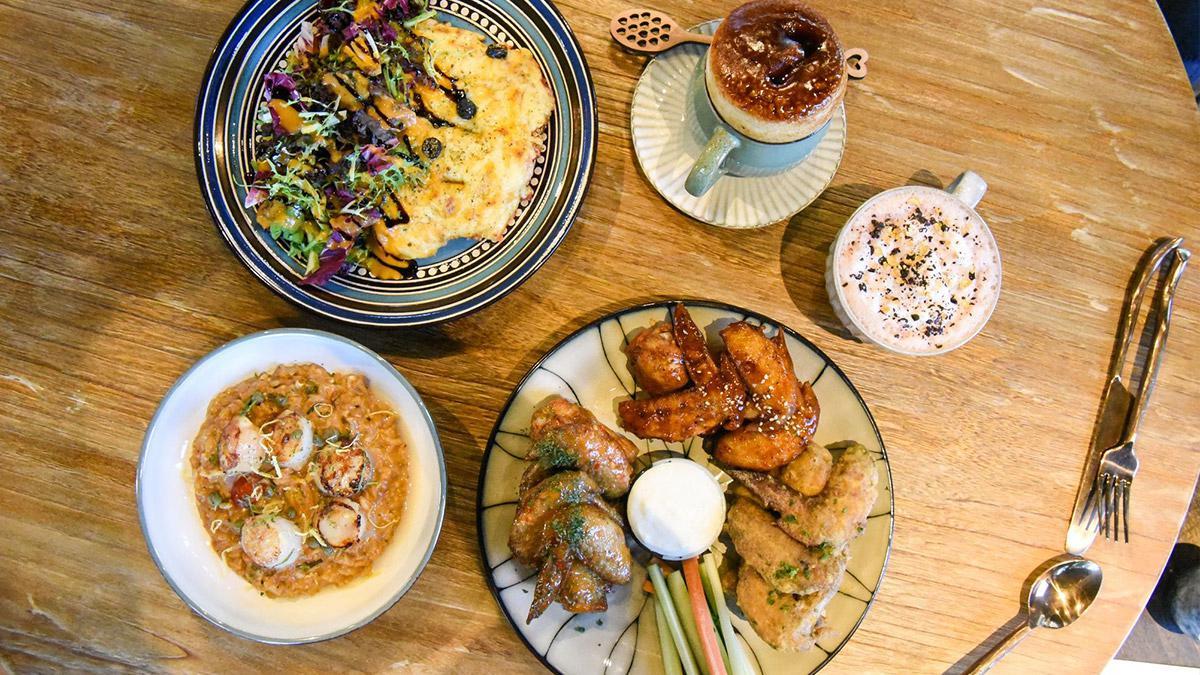 小酌首選!內湖餐酒館吃得到15種口味雞翅,雞胸披薩、干貝燉飯也必點